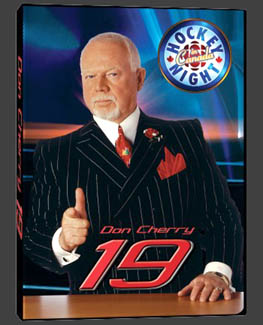 Don Cherry #19 NHL Hockey DVD